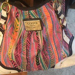 COOGI patterned bag